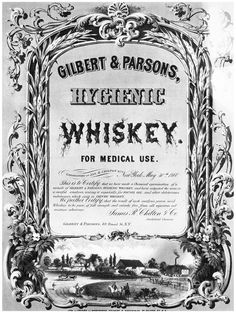 Citation: Granger, Gilbert and Parsons' 'Hygenic Whiskey', 1860, Richmond Daily Dispatch.