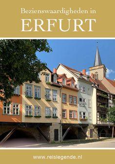 13 bezienswaardigheden in Erfurt - Reislegende.nl Mansions, House Styles, Erfurt, Manor Houses, Villas, Mansion, Palaces, Mansion Houses, Villa