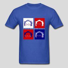 Bernie 2016 Art, Cool T-shirts. Feel The Bern. #beattrump