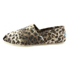 $25 Toms Brown Leopard Women's Classics in Toms Shoes Outlet Store