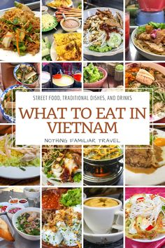 Through all our years of travel we can honestly say that traditional Vietnamese food is one of our favorite cuisines! From endless bowls of noodles to specialties you can't find anywhere else in the world. If you stick to Vietnamese street food and local markets you won't spend more than a couple U.S. dollars per meal. So if you're looking what to eat in Vietnam our ultimate food guide has what you need! Let's dive into all the best Vietnamese dishes, soups, and so much more.