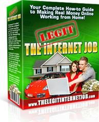 The Legit Internet Job