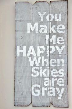 I like this saying