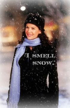 I just made this on Picmonkey for all the Gilmore Girls fans that are still out there :) perfect for this weather, and I'm definitely smelling some snow coming!