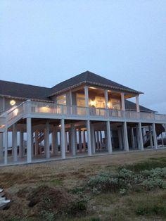 Crystal Beach House Rental