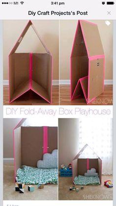 Foldaway playhouse