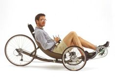 Traveling time, i would like two. One for my hubby and one of me. Trike Bicycle, Recumbent Bicycle, Scooter Bike, Bike Ride Quotes, Unicycle, Quad Bike, Bike Style, Pedal Cars, Bicycle Design
