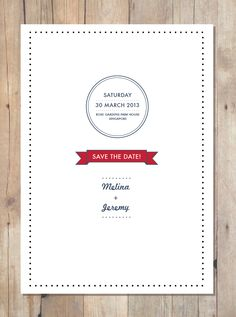 The Mustard Company - #wedding #invites #invitation #save #the #date #design #print