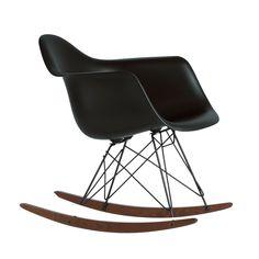 Der Eames Plastic Armchair RAR von Vitra in schwarz- Einzelabbildung