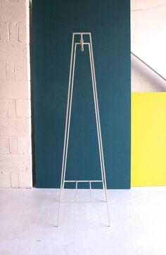 'A' clothes rail in paper white #andnewfurniture