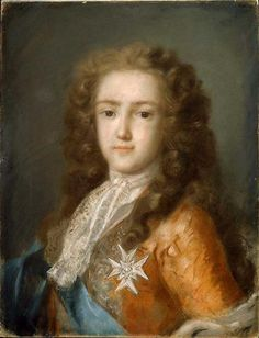 Louis XV as Dauphin by Rosalba Carriera - 1675 - 1757