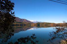 信州_紅葉の青木湖