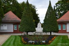 Forst Lausitz - Eingang zum Rosengarten