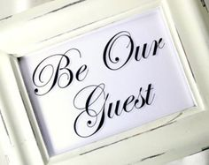 Pix For > Guest Sign