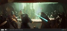 Michał Sztuka | Survivor, Michał Sztuka on ArtStation at… Star Wars Rpg, Star Wars Jedi, Light Vs Dark, Art Competitions, Art Station, Geek Art, Obi Wan, Sci Fi Art, Far Away