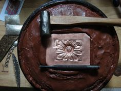 REPOUSSÉ & CHASING TUTORIAL - - by Chris Hierholzer - Grains of Glass