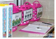 Organizing Reading Small Groups- Materials, Supplies, & Student Work... Freebie included!