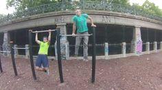 """2.29.""""Street Workout Motivation Vienna Austria"""" Mischgriff Muscle ups (M..."""