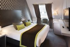 New colors at Hotel Diana Dauphine in Strasbourg, Alsace