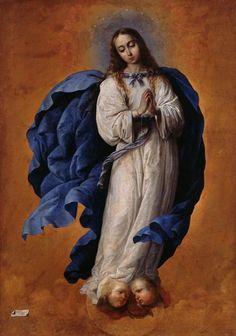 Francisco de Zurbarán: La Inmaculada.