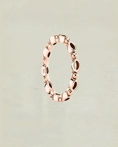 Bohemian Band Ring Sterling Silver and Rose Gold | Sivalya Wholesale