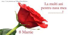 8 Martie, Nasa, Presents