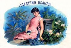 Vintage Graphic - Sleeping Beauty - The Graphics Fairy