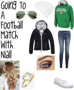 """Going to a Football Match with Niall."" by one-direction-date-outfits on Polyvore"