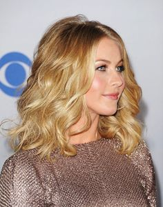 blonde mid-length hairstyle and color trend.Another 2013 hair trend that will remain popular from recent years are those enviable beach waves!