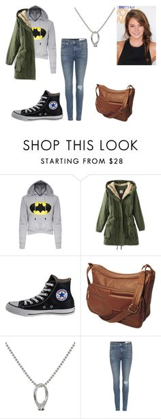 """""""Female Stiles Stilinski"""" by taylor-ross115 on Polyvore featuring Converse, NOVICA and rag & bone"""