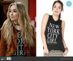 Maya's New York City Girl top and orange lace jacket on Girl Meets World Maya Fashion, Fashion Tv, Autumn Fashion, Girl Fashion, Tv Show Outfits, Chic Outfits, Fashion Outfits, Boy Meets World Quotes, Girl Meets World
