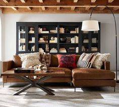 Couch 2: Pottery Barn (living room corner decor)