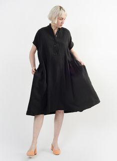 282ae59d831 Cairo Dress - Black - Meg - Made in your neighborhood by women for women