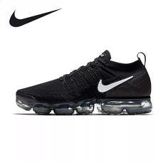ee67a6879 Nike air vapormax flyknit 2 das mulheres dos homens tênis de corrida  sneakers respirável esporte ao