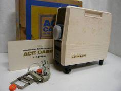 SOZ-974EC エース キャビン スライドプロジェクター ジャンク_画像1