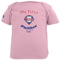 e64b658f6 Majestic Philadelphia Phillies Infant Girls Pink My First T-shirt