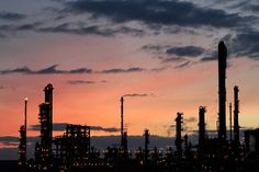 Grangemouth oil refinery, Scotland. Shot by Daniel Sweeney.