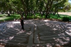 The Labyrinth at Rancho La Puerta in Mexico