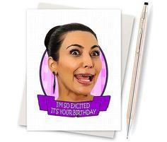 Kim Kardashian. Kim Crying. Kim K. Funny by InLivingColorStudios