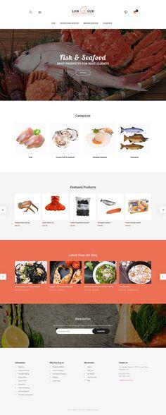 Longud - Seafood Delicacies Magento 2