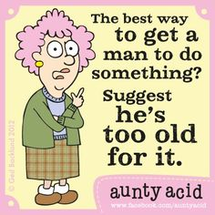 #AuntyAcid #AAttitude #Men