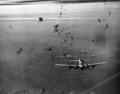 B-17G SQUADRON, UNDER FIRE