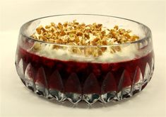 Magnolia Collection Recipes   Magnolia Collection Recipes - Whole CRANBERRY SALAD w/ CREAM CHEESE NUT Topping - Whole CRANBERRY