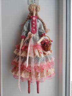 """Купить Тильда""""Рози"""" - тильда, тильда кукла, тильда ангел, подарок девушке, подарок женщине"""