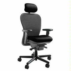 Cxo Mesh Back Heavy Duty Ergonomic Chair With Headrest 6200dhd