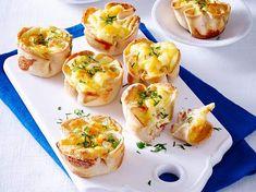 Unser beliebtes Rezept für Toastmuffins mit Käse-Schinken-Füllung und mehr als 55.000 weitere kostenlose Rezepte auf LECKER.de.