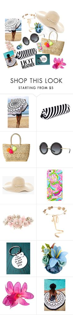 """""""Selmetina"""" by adelmar ❤ liked on Polyvore featuring beauty, The Beach People, Lilly Pulitzer, Dolce&Gabbana, Chico's, Accessorize and Eugenia Kim"""
