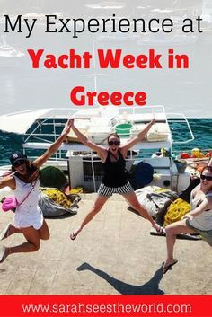 I had the time of my life during Yacht week in Greece! If you're thinking about going, read this first. I tell you some of the secrets about Yacht week that no one ever tells! Don't forget to save this to your travel board.