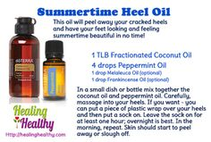 How to get rid of cracked heels fast! Get sexy, smooth, summertime feet & keep them that way easily! FREE SAMPLES call 209-204-9452 website http://mydoterra.com/dreamjob
