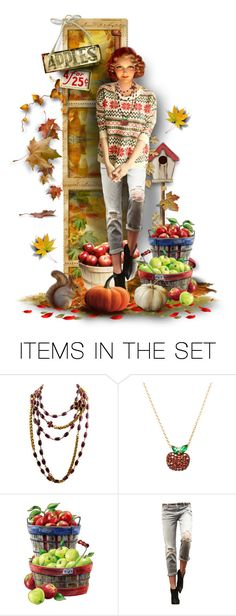 """""""Apple Annie"""" by ellen-hilart ❤ liked on Polyvore featuring art"""